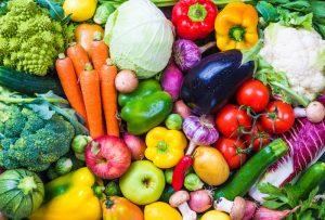 Verschiedene Gemüsesorten.Welche Diät darf es sein?