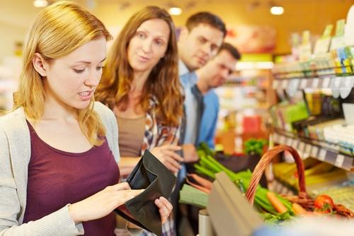 Lebensmittel Lieferdienst doch besser als Warteschlange?